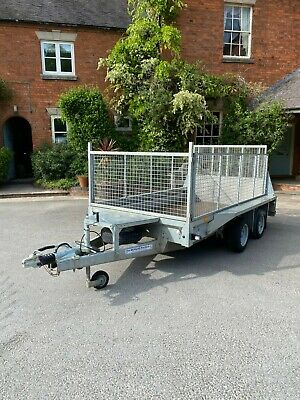 Ifor Williams GX105 2016 Plant Trailer Px Welcome VG Condition 3500KG Mesh Sides