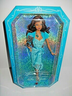 Nib Barbie Doll 2007 Birthstone Beauties Miss Turquoise December African America