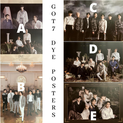 GOT7 - [ DYE ] Mini Album (Choose Version) - POSTER ONLY -