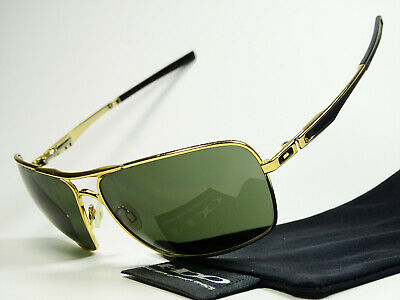 Oakley Plaintiff Squared Gold Grey Sonnenbrille Inmate Felon Probation Deviation