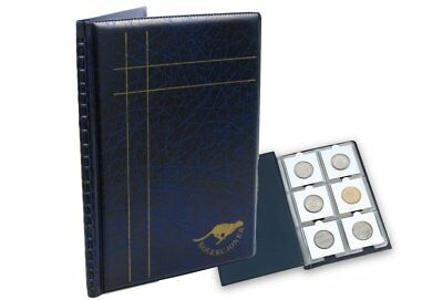 Collection Coin Albums for many coins and holders 60 slots free delivery