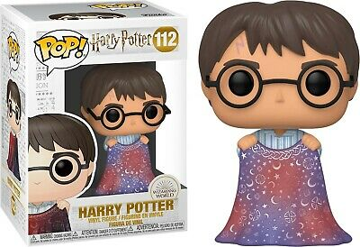 Harry Potter - Pop! - Harry with Invisibility Cloak n°112 - Funko