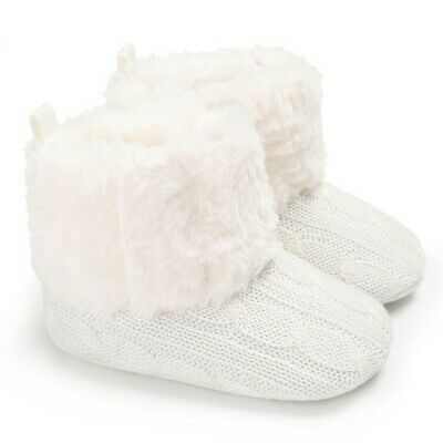 2020 Toddler Kids Baby Girls Toddler First Walk Winter Shoes Casual Warm Shoes