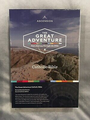 Ascension The Great Adventure Catholic Bible BRAND NEW FAST FREE SHIPPING