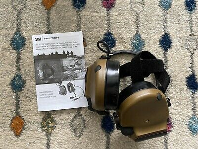 3M Peltor COMTAC III ACH Coyote Hearing Defenders With Neck Band.