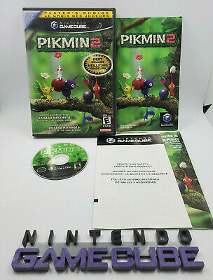 Pikmin 2 CIB Game (Nintendo Gamecube) Complete Free Shipping