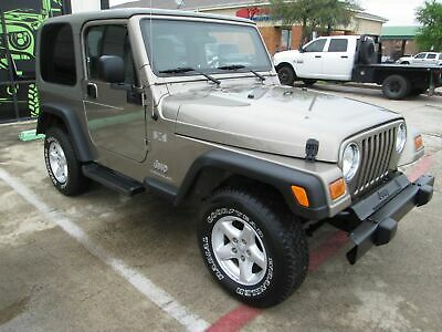 2006 Jeep Wrangler X 2006 Tan X!