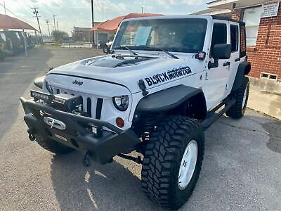 2013 Jeep Wrangler Unlimited Sport 2013 White Sport!