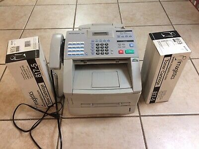 Pitney Bowes 1630 Fax Machine - Copier Working Extra New Toner