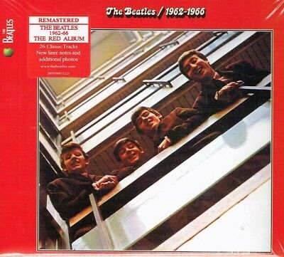 The Beatles - RED Album 1962-1966 (Remastered 2CD 2010) Brand New Fast Shipping