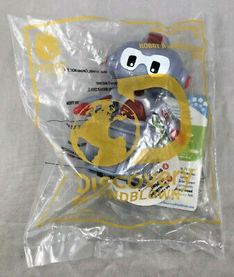Acceleration BOT Toy Discovery # Mindblown Robot Happy McDonalds Canada DCL 2019