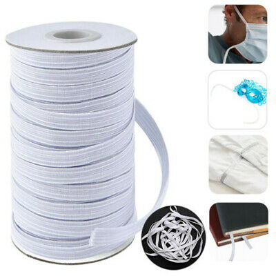 17.5 Yards Braided Strength Cord Band Elastic Rope Stretch Knit Sewing 25mm