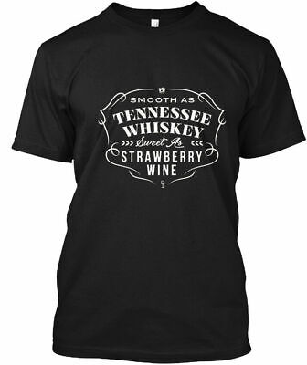 In style Smooth As Tennessee Whiskey - Sweet Gildan Tee T-Shirt Cotton