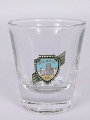 "Atlanta Georgia Shield 2.25"" Collectible Shot Glass"