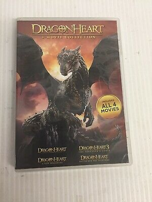 Dragonheart: 4-Movie Collection (DVD,4-Disc Set)
