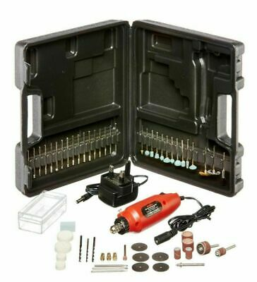 Mini Drill and Bit Set Rotary Grinder Engraver Craft & Sanding Kit 60 piece
