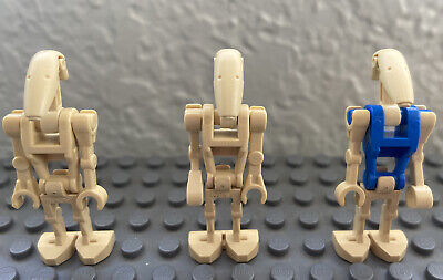 Lego Minifigure Star Wars Battle Droid with Buildable STAP from Set 75058 Lot G8