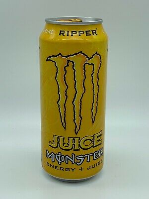 Monster Energy Ripped Juice Discontinued 16 oz