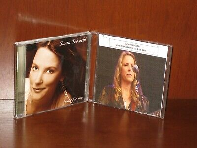 """SUSAN TEDESCHI 2 CD LOT """"Wait For Me + Live In Sausalito 2-16-99"""""""