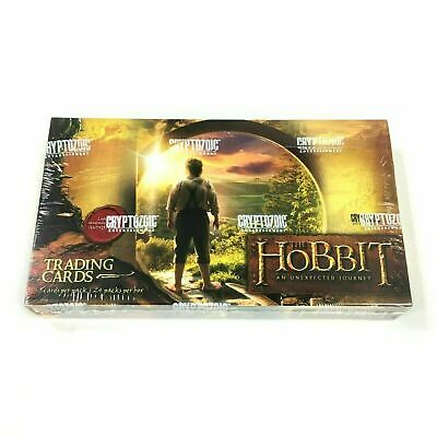 THE HOBBIT AN UNEXPECTED JOURNEY Trading Cards Hobby Box SEALED