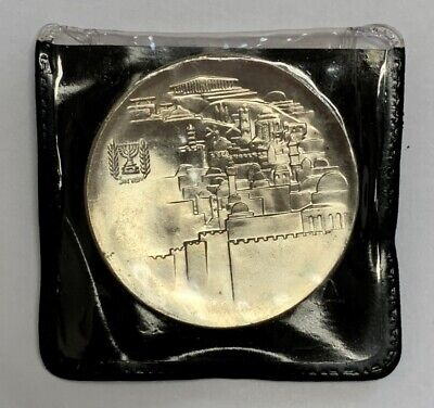 1968 20th Anniversary .935 Silver Israel 10 Lirot Coin Brilliant Uncirculated