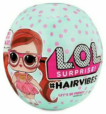 Lol Surprise! Hairvibes With 15 Surprises - Mix Match Hair *New - Fast Post*