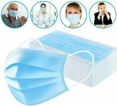 Face Mask Mouth And Nose Respirator Safe Protector Cover Lot 10,20,30,40 50 PC