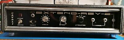 DAVOLI EXTEND-REV-2 unit reverb analog solid state vintage made in Italy '60/70