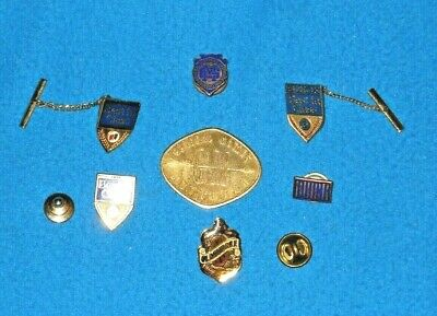 Vintage Lot of Buick Automobile Best in Show Pins & General Motors Institute Pin