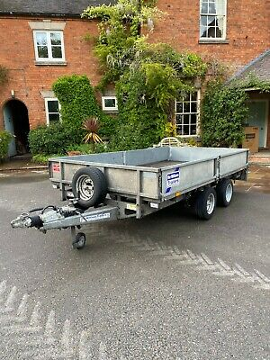 Ifor Williams LM126 Flatbed Trailer 2015 VG Condition PX Welcome 3500KG NO VAT