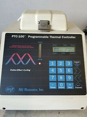 MJ Research Programmable Thermal Controller PTC-100 with Power Supply