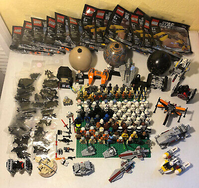 Updated Choice of Star Wars Lego Polybags Minifigs Microfighters Minifig Weapons