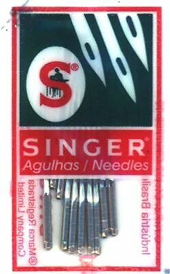 Singer 2045 Sewing Machine Needles Knits~Ball Point 130/705H-S.10/pkg Size 16