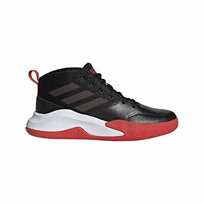 Kids Adidas Girls ownthegame k Hight Top Lace, Black/Active Red/White, Size 6.0