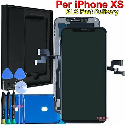 Display Per Apple Iphone Xs Lcd Schermo Vetro Assemblato Oled Touch Screen Frame
