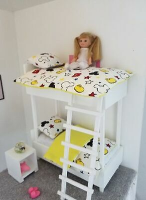 1//6 scale kids size bunk bed for Barbie Chelsea,Kelly  dolls...colours!!!