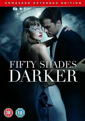 Fifty Shades Darker Unmasked Extended Edition DVD New & Sealed