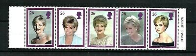 1998 Commemoration of Princess Diana Complete Set SG2021 - 2025 Unmounted Mint