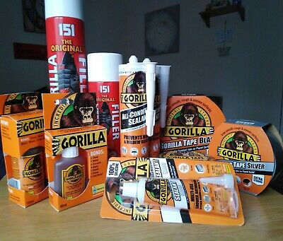 BNIB Gorilla adhesive Glue, industrial sealant tapes & Electrical tapes-New
