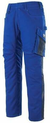 "Mascot 12579442-11010""Oldenburg"" Safety Trousers Blue/Black US 40.5-Inseam:35"""