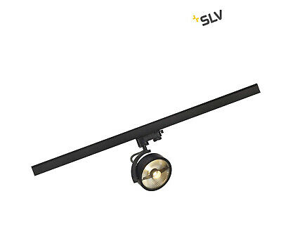 SLV KALU Track QPAR111 Light Head, Black, Incl. 3P-Adapter, Aluminium