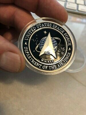 RARE = Unique = United States U.S. Space Force / Command Air Force Trump Coin