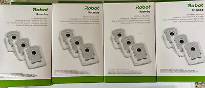 iRobot Roomba Dirt Disposal Bag 4 units with 3-Packs in each, Total of 12 bags.