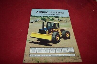 AGRICO 4+ Series Articulated Industrial Tractor Dealer's Brochure TBPA
