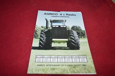 AGRICO 4+ Series Articulated Tractor Dealer's Brochure TBPA
