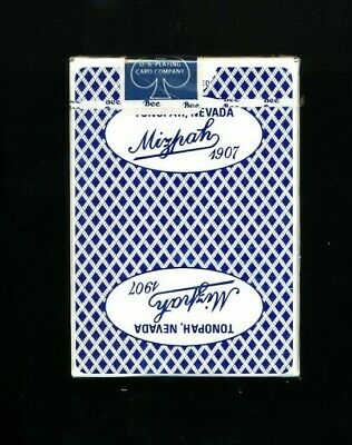 Vintage Casino Playing Card Deck - Mitzpah Tonopah Nevada New & Sealed