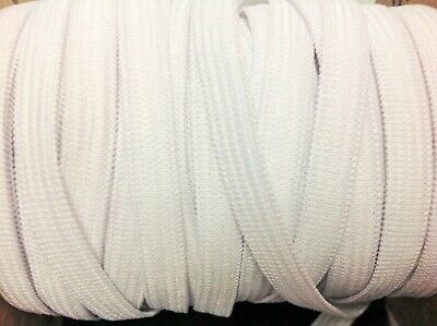 1/4 Inch Thin Elastic Band Fast Making WHITE 7mm Stretch String Fast Shipping