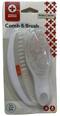 The First Years American Red Cross Comfort Care Comb & Brush For Baby.