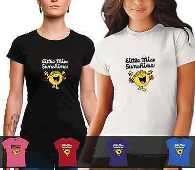 LADIES Little Miss Sunshine Tshirt cotton