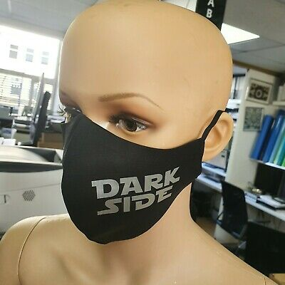 Star Wars Reusable Black Cotton Face mask Fashion keep distance UK FACE COVER